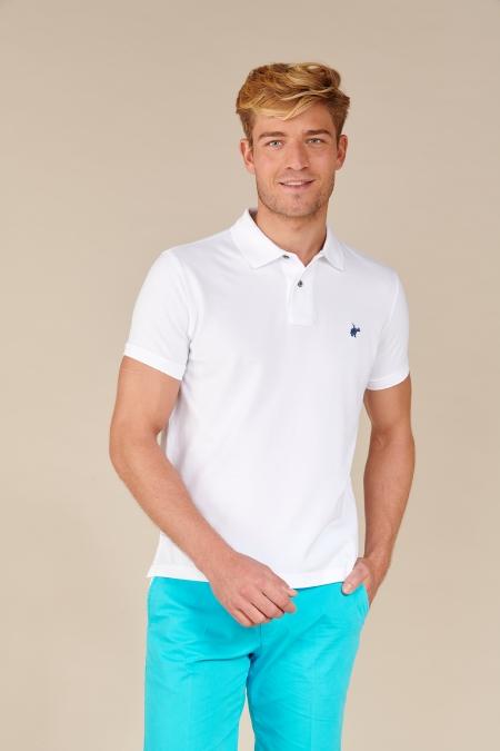 Polo Lover coton blanc