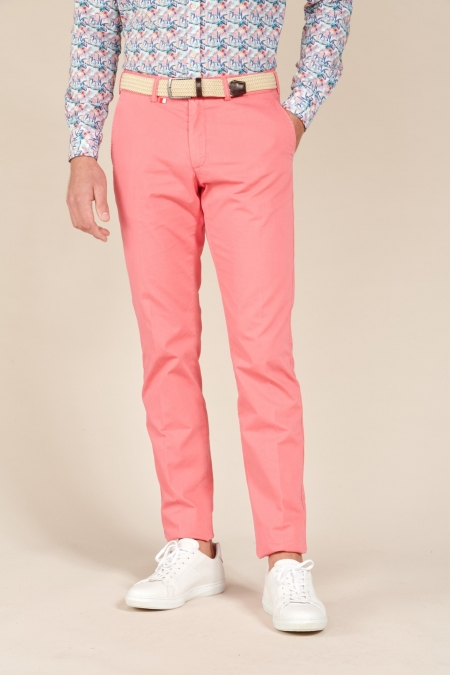 Pantalon Chino Fox rose indien