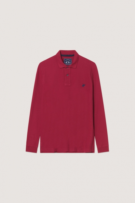 Polo Tom burgundy