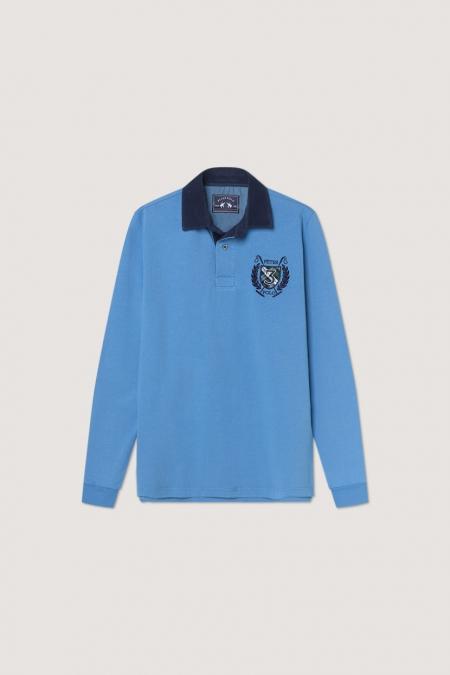 Polo Balton bleuet
