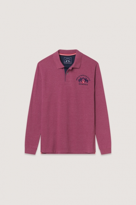 Polo Bergame berry