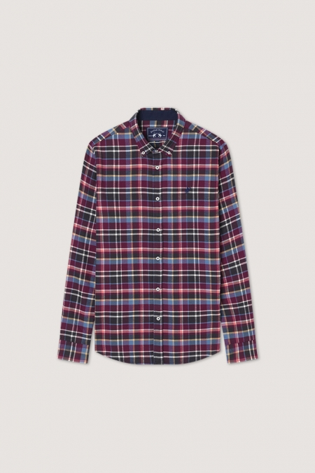 Chemise flanelle Timber berry
