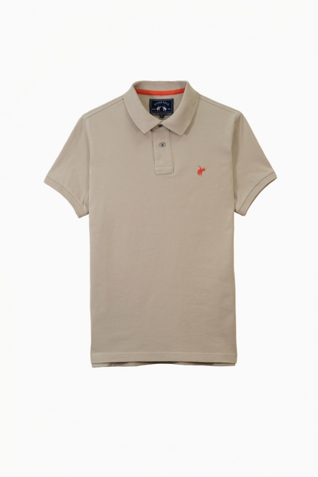 Polo Lover coton beige