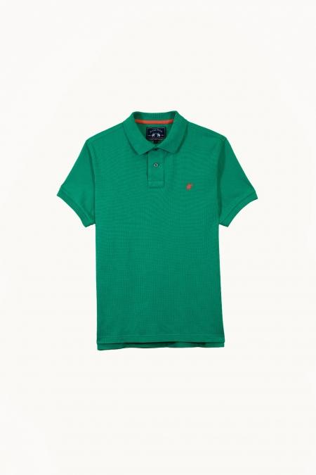 Polo Lover coton deep green
