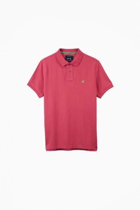 Polo Lover coton raspberry