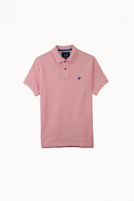 Polo Lover coton rose foncé