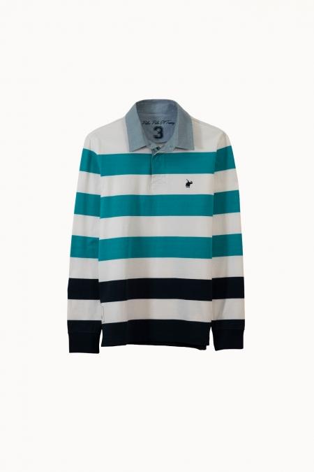 Polo Crawl jersey coton maldive