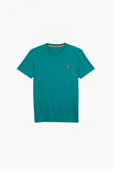 T-shirt New Basic col rond maldives