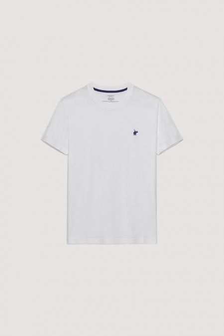 T-shirt New Basic col rond blanc
