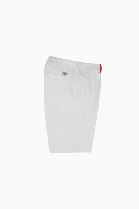 Short coupe chino Duc blanc
