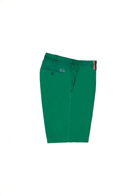 Short coupe chino Duc deep green