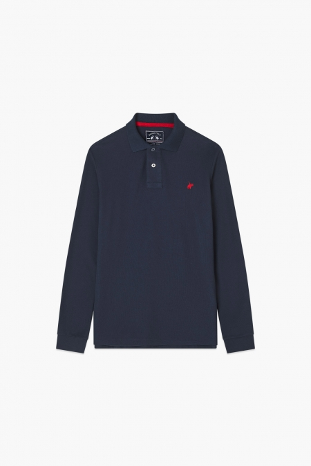 Polo tom marine