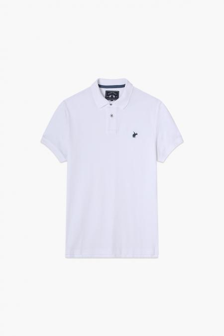 Polo Lover Blanc