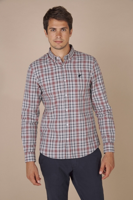 Chemise mitch rio red