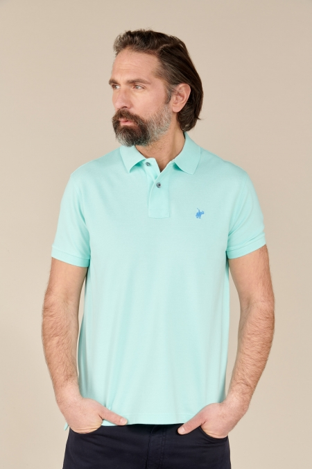 Polo Lover coton acqua