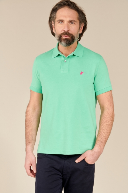Polo Lover coton jade