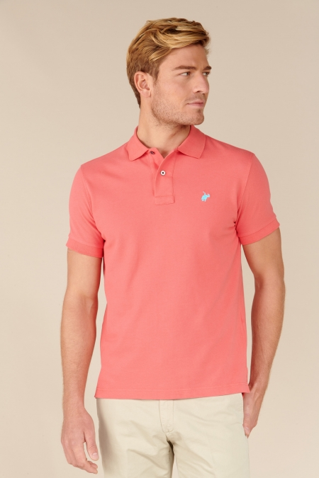 Polo Lover coton rose indien
