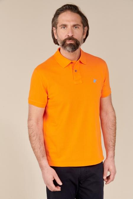 Polo Lover coton tangerine