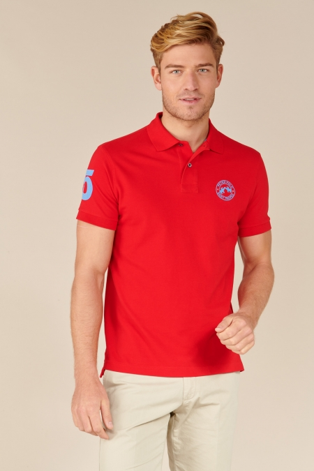 Polo Flag coton hermes
