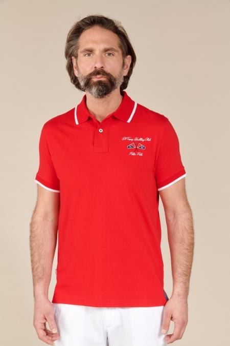 Polo Yacht jersey coton hermès