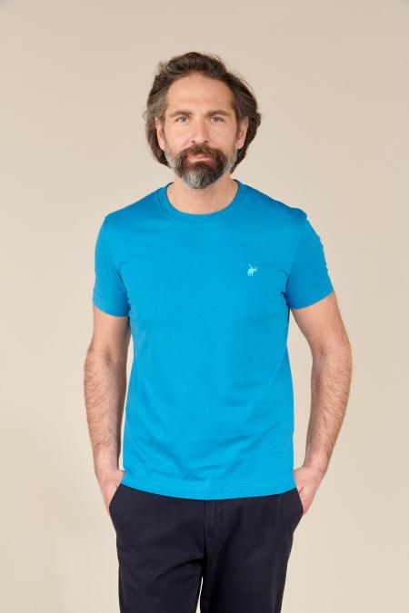 T-shirt New Basic col rond deep sea