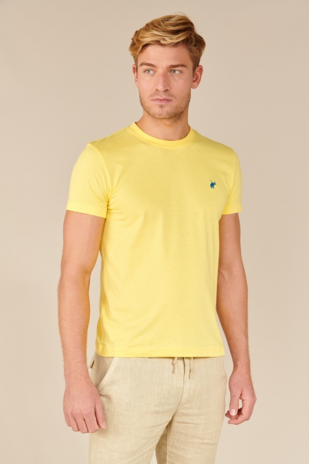 T-shirt New Basic col rond soleil
