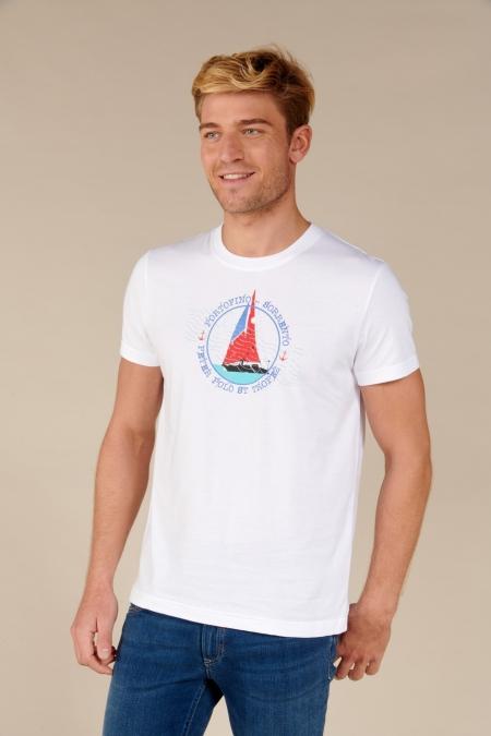 T-shirt Story blanc