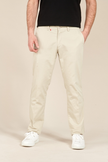 Pantalon Chino Fox beige