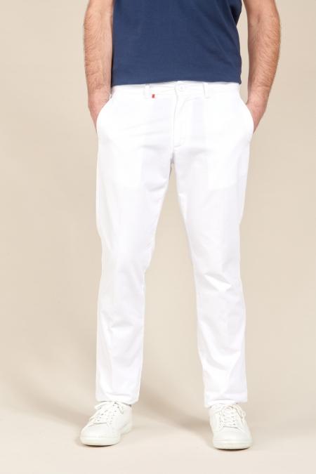 Pantalon Chino Fox blanc