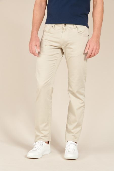 Pantalon basique Presto beige