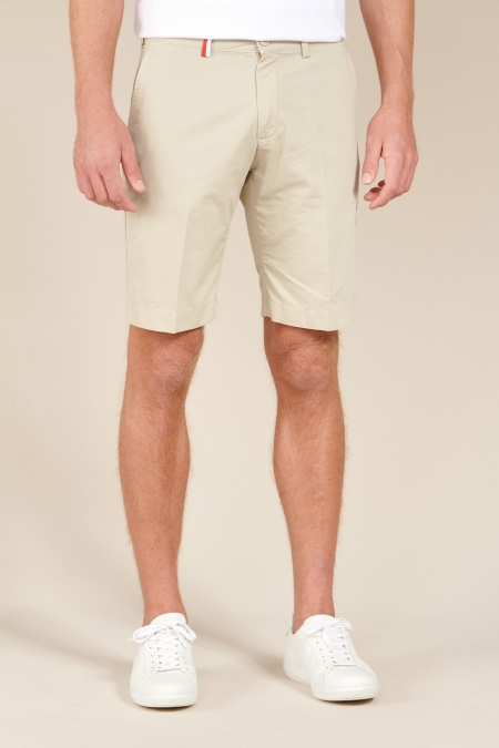 Short coupe chino Duc beige