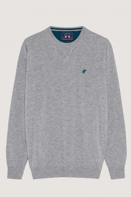 Pull basique col rond Club